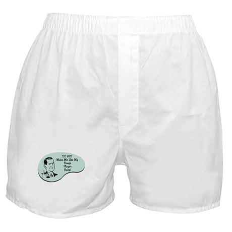 Banjo Player Voice Boxer Shorts