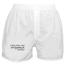 German Board Games Genius Boxer Shorts