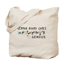 German Board Games Genius Tote Bag