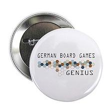 """German Board Games Genius 2.25"""" Button"""