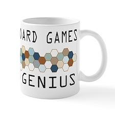 German Board Games Genius Mug