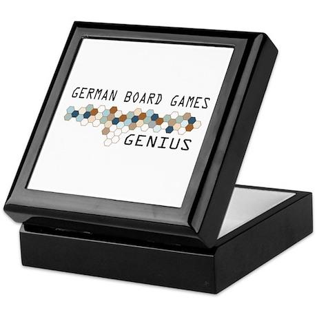 German Board Games Genius Keepsake Box