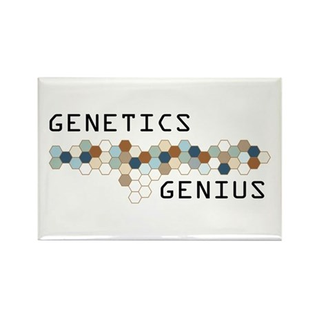 Genetics Genius Rectangle Magnet