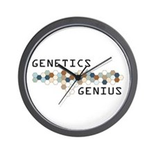 Genetics Genius Wall Clock