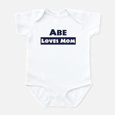 Abe Loves Mom Infant Bodysuit