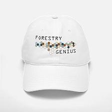 Forestry Genius Baseball Baseball Cap