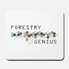 Forestry Genius Mousepad