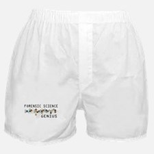 Forensic Science Genius Boxer Shorts