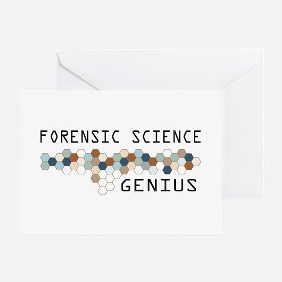 Forensic Science Genius Greeting Card