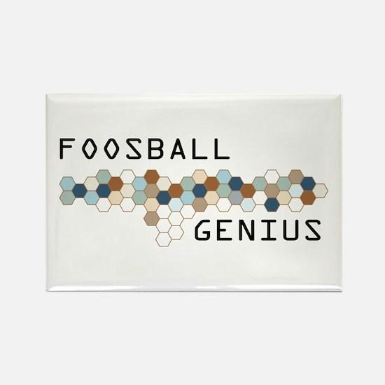 Foosball Genius Rectangle Magnet