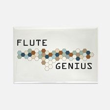 Flute Genius Rectangle Magnet (10 pack)