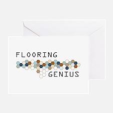 Flooring Genius Greeting Card