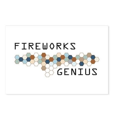 Fireworks Genius Postcards (Package of 8)