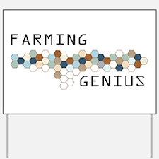 Farming Genius Yard Sign
