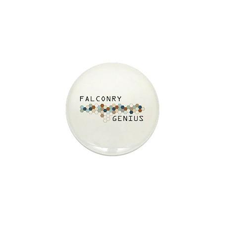 Falconry Genius Mini Button (10 pack)