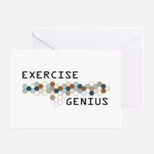 Exercise Genius Greeting Card