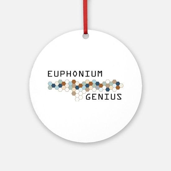 Euphonium Genius Ornament (Round)