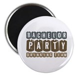 Bachelor Drinking Team Magnet