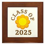 Class Of 2025 Logo Framed Tile
