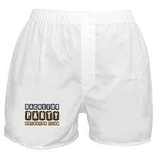 Bachelor Drinking Team Boxer Shorts