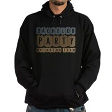 Bachelor Drinking Team Hoodie (dark)