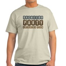 Bachelor Drinking Team Light T-Shirt