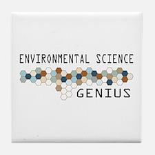 Environmental Science Genius Tile Coaster