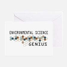 Environmental Science Genius Greeting Card