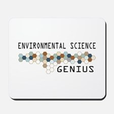 Environmental Science Genius Mousepad