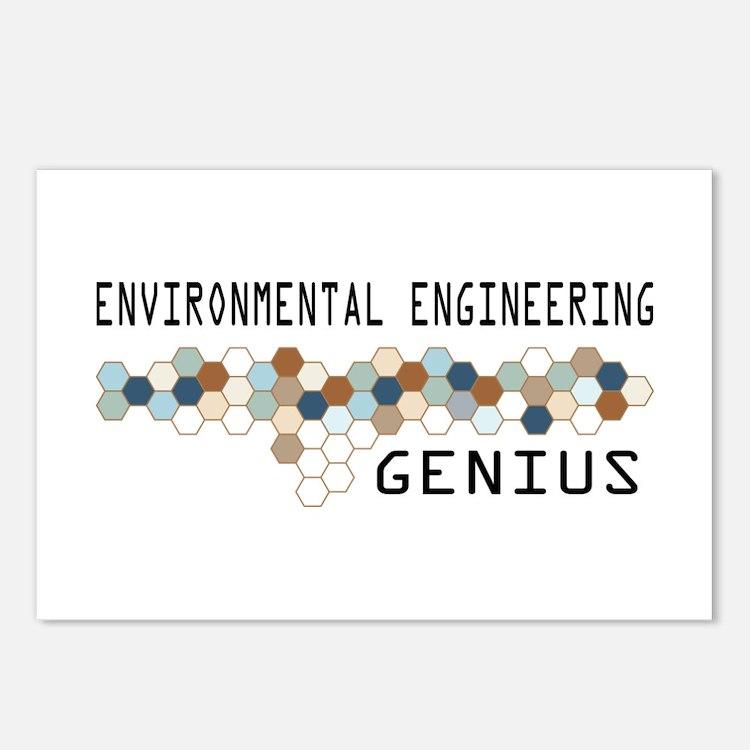 Environmental Engineering Genius Postcards (Packag