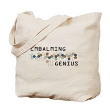 Embalming Genius Tote Bag