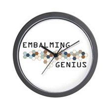Embalming Genius Wall Clock