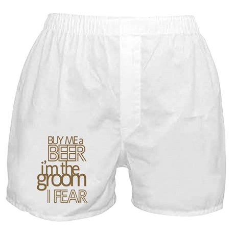 Buy Me a Beer Groom Boxer Shorts