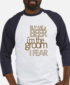Buy Me a Beer Groom Baseball Jersey