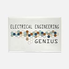 Electrical Engineering Genius Rectangle Magnet