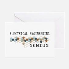 Electrical Engineering Genius Greeting Card