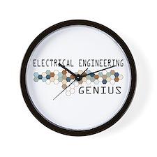 Electrical Engineering Genius Wall Clock