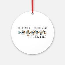 Electrical Engineering Genius Ornament (Round)