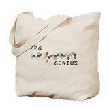 Eeg Canvas Totes