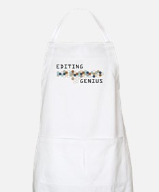 Editing Genius BBQ Apron