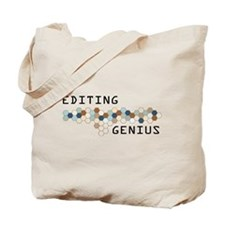 Editing Genius Tote Bag