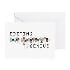 Editing Genius Greeting Card