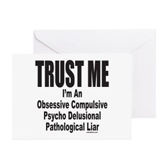 LIAR Greeting Cards (Pk of 20)