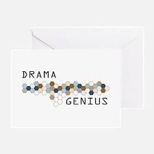 Drama Genius Greeting Card