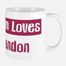 Mom Loves Landon Mug
