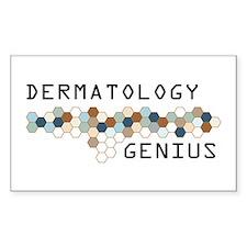 Dermatology Genius Rectangle Decal