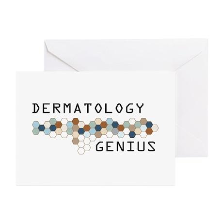 Dermatology Genius Greeting Cards (Pk of 10)