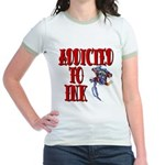 Addicted to Ink Jr. Ringer T-Shirt