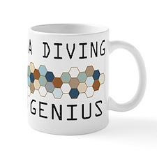 Deep Sea Diving Genius Mug