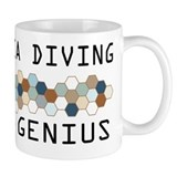Deep sea diving Small Mugs (11 oz)